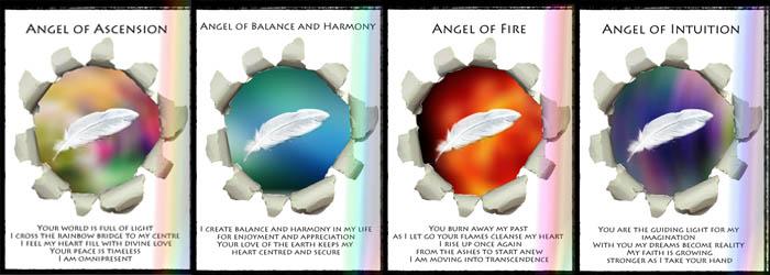 Angel Cards by Jennifer Lynch